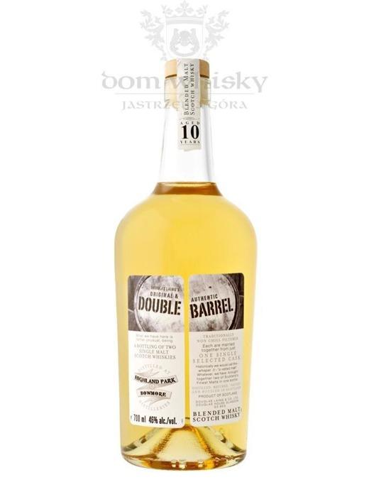 Double Barrel Blended Malt Highland Park & Bowmore / 46% / 0,7l