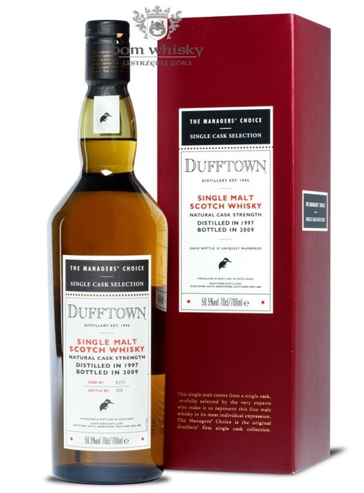 Dufftown 1997 (B.2009) The Manager's Choice /59,5%/ 0,7l
