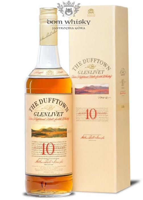 Dufftown Glenlivet 10-letni (Bottled 1980s) / 40% / 0,75l