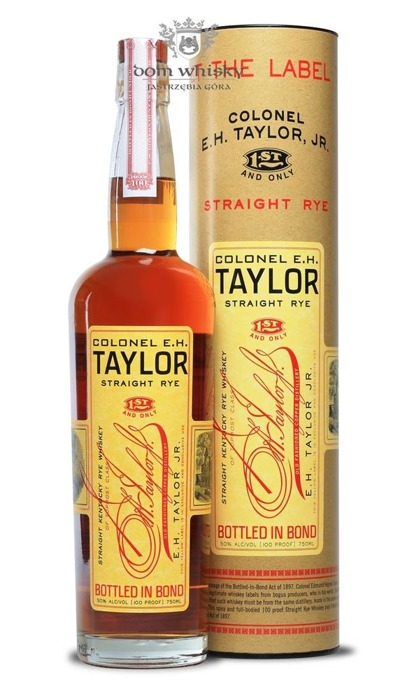 E.H. Taylor Straight Rye / 50% / 0,75l