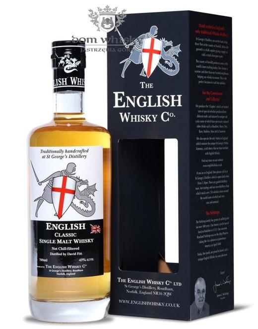 English Whisky CO. Classic Single Malt / 43% / 0,7l