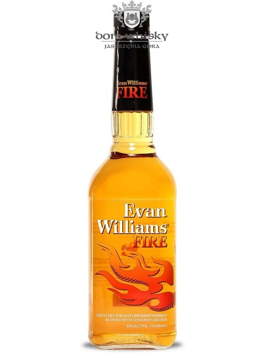 Evan Williams Fire Cinnamon Liqueur / 35% / 0,7l