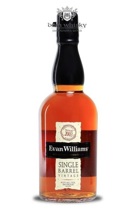 Evan Williams Single Barrel 2003 / 43,3% / 0,7l