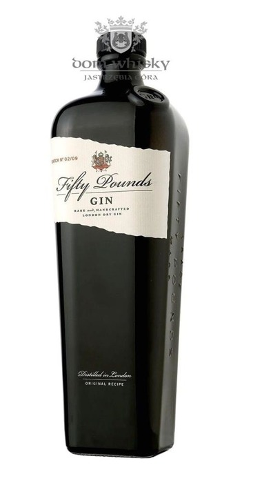 Fifty Pounds Gin London Dry Gin / 43,5% / 0,7l