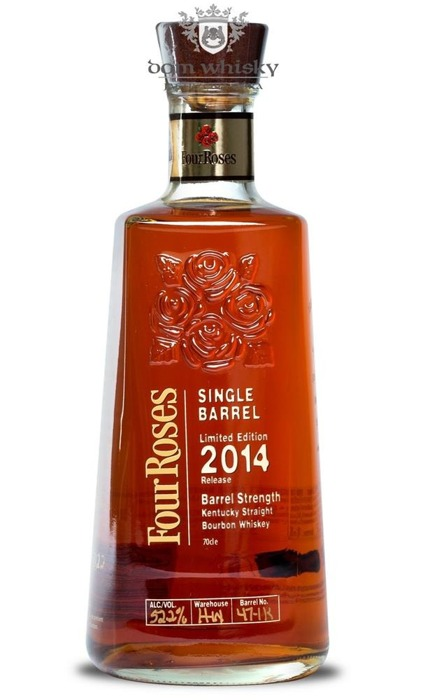 Four Roses Single Barrel 2014 Limited Edition 47-1K /52,2%/0,7l