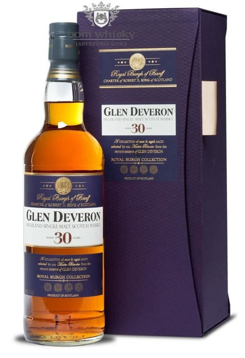 Glen Deveron 30-letni / 40% / 0,7l