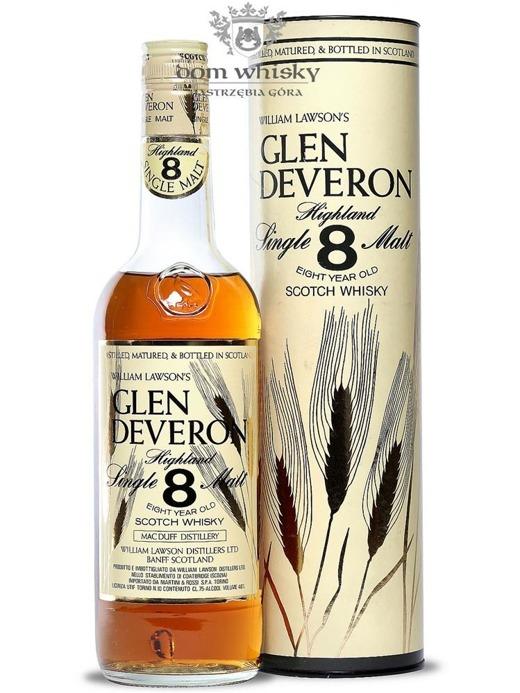 Glen Deveron 8-letni / 40% / 0,75l