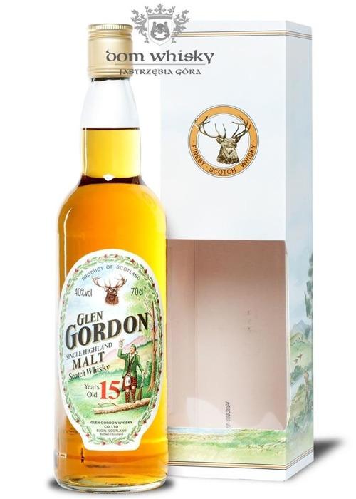 Glen Gordon 15-letni / 40% / 0,7l