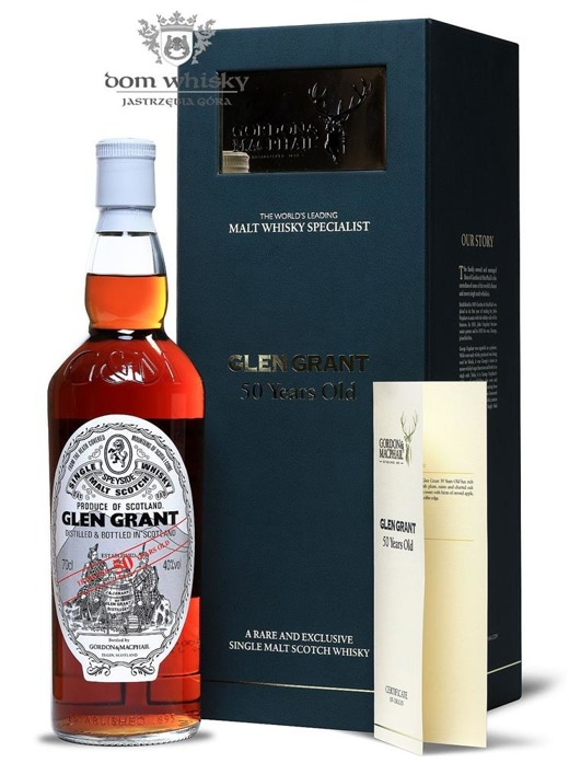 Glen Grant 50-letni, Gordon & MacPhail / 40%/ 0,7l