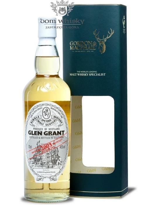 Glen Grant Vintage 2003, (B.2014) Gordon & MacPhail / 40% / 0,7l