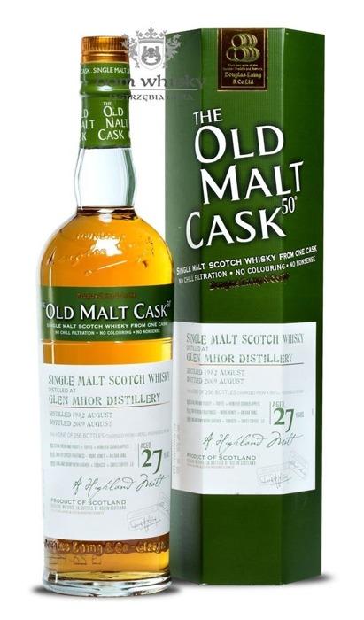 Glen Mhor 27-letni (D.1982, B.2009) Old Malt Cask / 50% / 0,7l