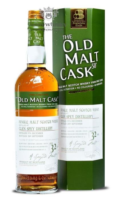 Glen Spey 32-letni (D.1976 B.2009) Old Malt Cask / 50% / 0,7l