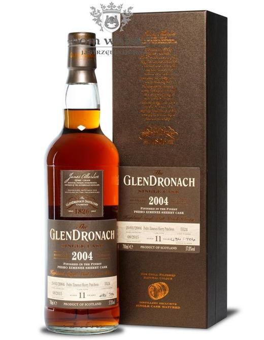 GlenDronach 11-letni (D.2004 B.2015)Single Cask #5524 /57,8%/0,7