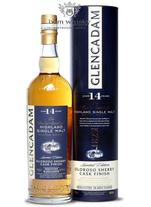Glencadam 14-letni Oloroso Sherry Cask Finish / 46% / 0,7l