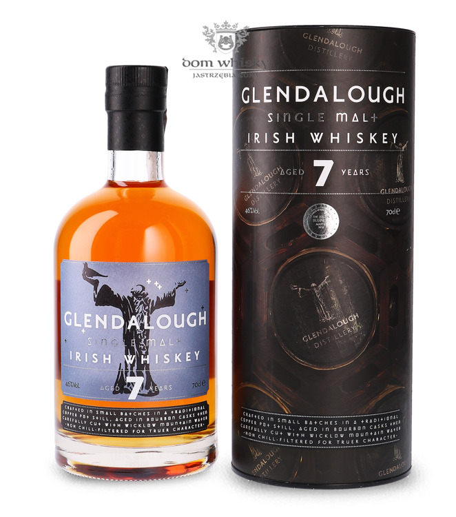Glendalough Single Malt 7-letni / 46% / 0,7l