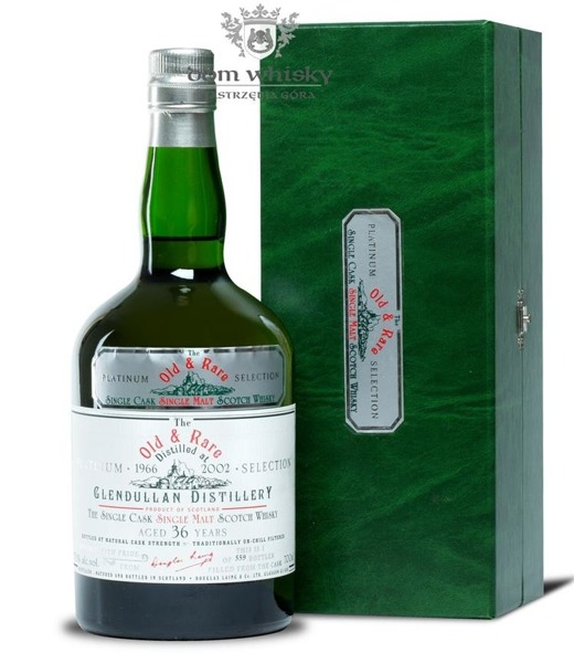 Glendullan 36-letni (D.1966 B.2002) Old & Rare/ 55,1%/ 0,7l