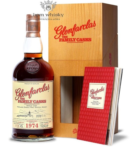 Glenfarclas 1974 (Bottled 2014) The Family Casks / 57,2% / 0,7l