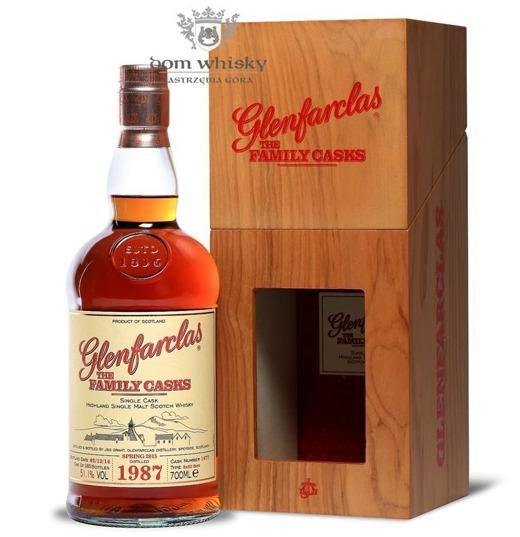 Glenfarclas The Family Casks 1987, Bottled 2014 / 51,1% / 0,7l