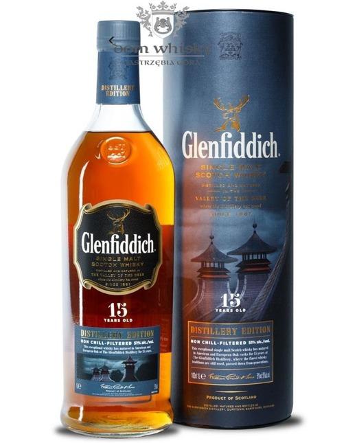 Glenfiddich 15-letni Distillery Edition / 51% / 1,0l