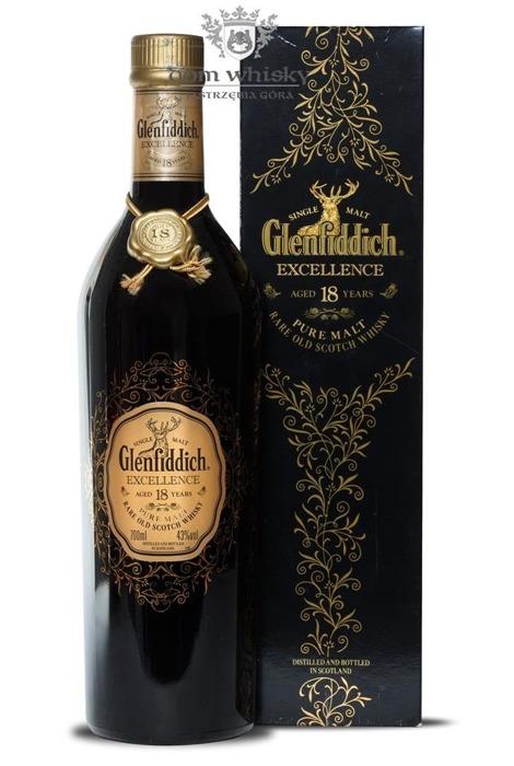 Glenfiddich 18-letni Excellence / 43% / 0,7l