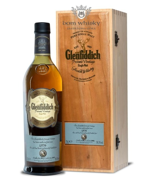 Glenfiddich 1976 Private Vintage,27-letni (Cask # 2442)50,3%/0,7