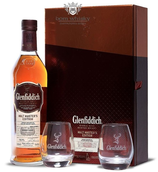 Glenfiddich Malt Masters Batch 06 /with Tasting Glasses/43%/0,7