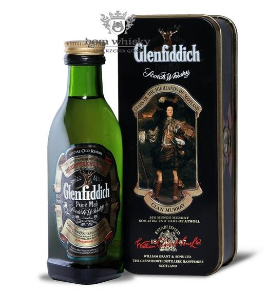 Glenfiddich Pure Malt, Clan Murray / 43% / 0,05l