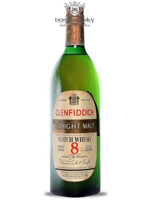 Glenfiddich Straight Malt 8-letni / 43% / 0,75l