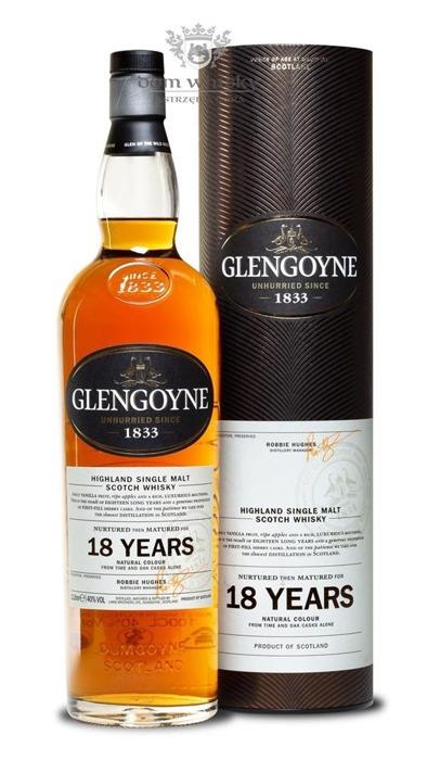 Glengoyne 18-letni / 40% / 1,0l