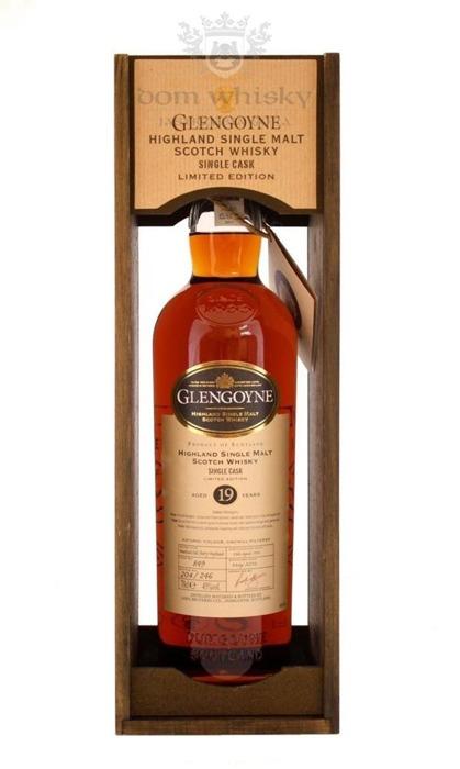 Glengoyne 19-letni Single Cask (D.1993, B.2012) / 45% / 0,7l
