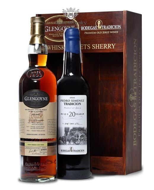 Glengoyne 1999 Vintage (B.2012)50,9%,0,7l(20-letnia Sherry free)
