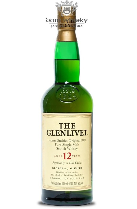 Glenlivet 12-letni / Brak opakowania / 40% / 0,7l