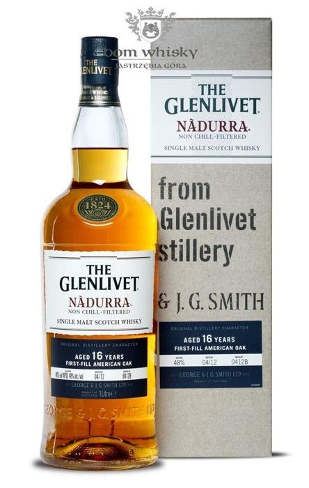 Glenlivet 16-letni Nàdurra (Batch 0412B) / 48% / 1,0l