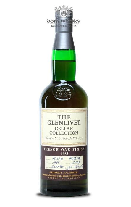 Glenlivet 1983 Cellar, French Oak Finish (B.2003) 46% 0,7l