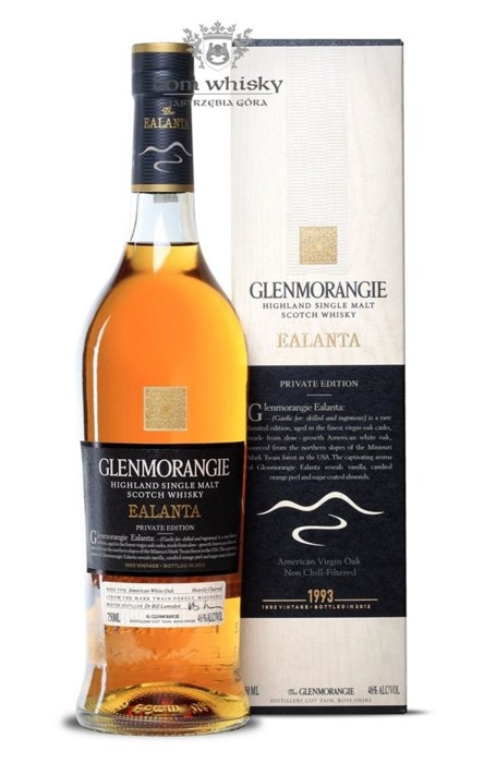 Glenmorangie Ealanta (Private Edition) / 46% / 0,75l