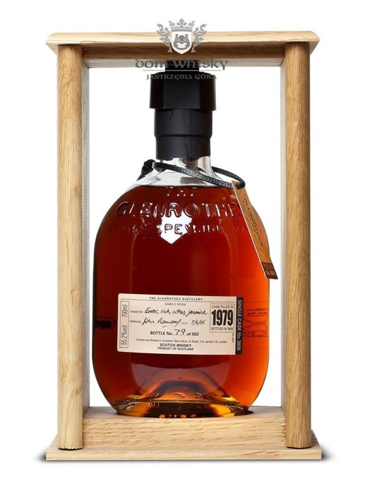 Glenrothes 1979 Cask Strength (Bottled 2005) / 55,2% / 0,7l