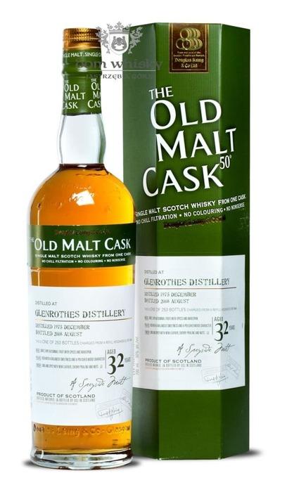 Glenrothes 32-letni (D.1975 B.2008) Old Malt Cask / 50% / 0,7l