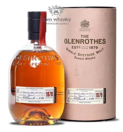 Glenrothes D.1979 B.1995 / 43% / 0,7l