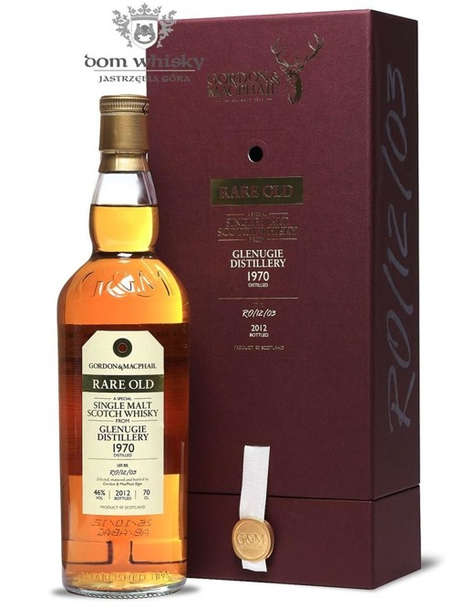 Glenugie 1970 (Bottled 2012) Rare Old, Gordon & MacPhail / 46%/ 0,7l