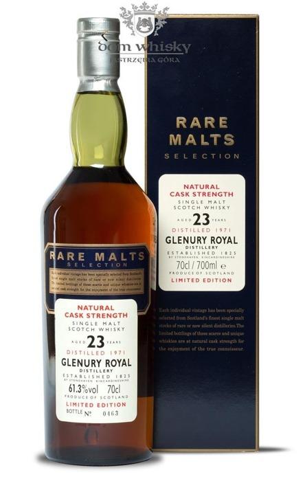 Glenury Royal 23-letni (D.1971 B.1995) Rare Malts / 61,3% / 0,7l