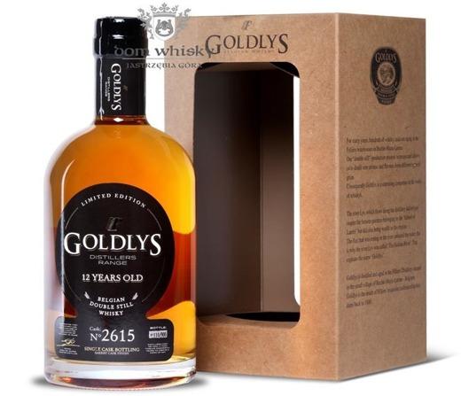 Goldlys 12 letni Sherry Single Cask Finish 2615 (Belgia) / 43% /