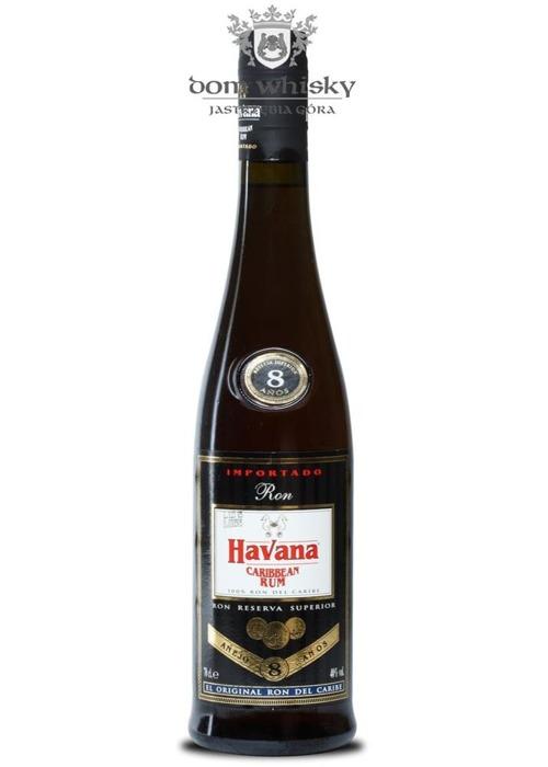 Havana Caribbean Rum 8 Anos Anejo / 40% / 0,7l