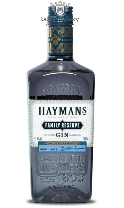 Hayman's Family Resreve / 41,3% / 0,7l