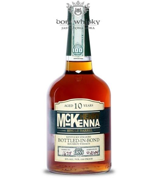Henry McKenna 10-letni Single Barrel / 50% / 0,75l