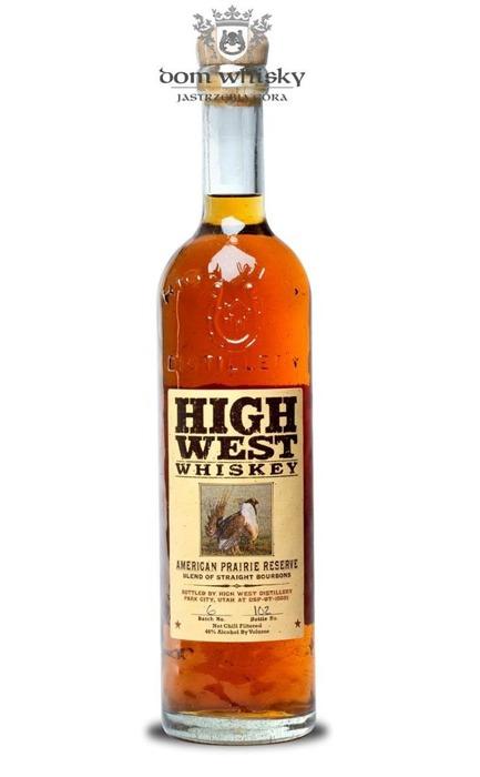 High West American Prairie Reserve Whiskey / 46% / 0,75l