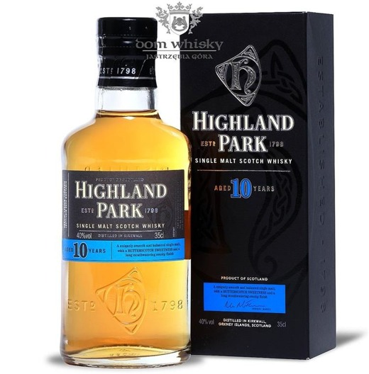 Highland Park 10-letni / 40% / 0,35l