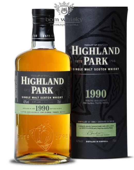 Highland Park 1990 Vintage (Bottled 2010) / 40% / 0,7l