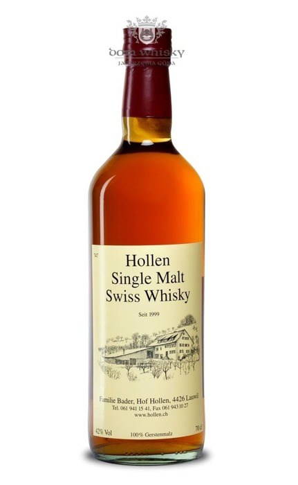 Hollen Single Malt Swiss Whisky (Szwajcaria) / 42% / 0,7l