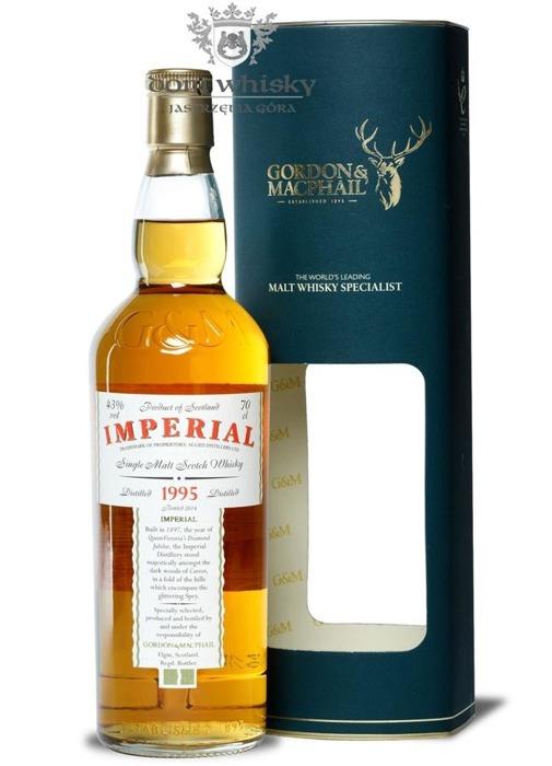 Imperial 1995 Vintage (Bottled 2014) Gordon & MacPhail/ 43%/0,7l