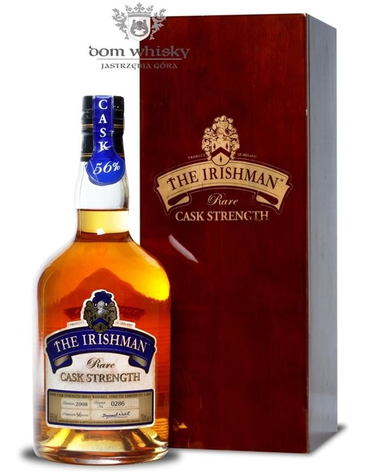 Irishman Cask Strength / 56% / 0,7l
